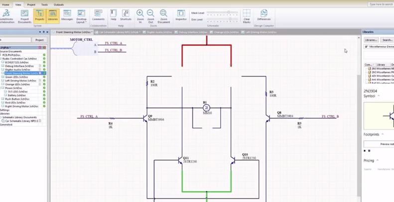 Video-solidworks-pcb-schematique-mycad