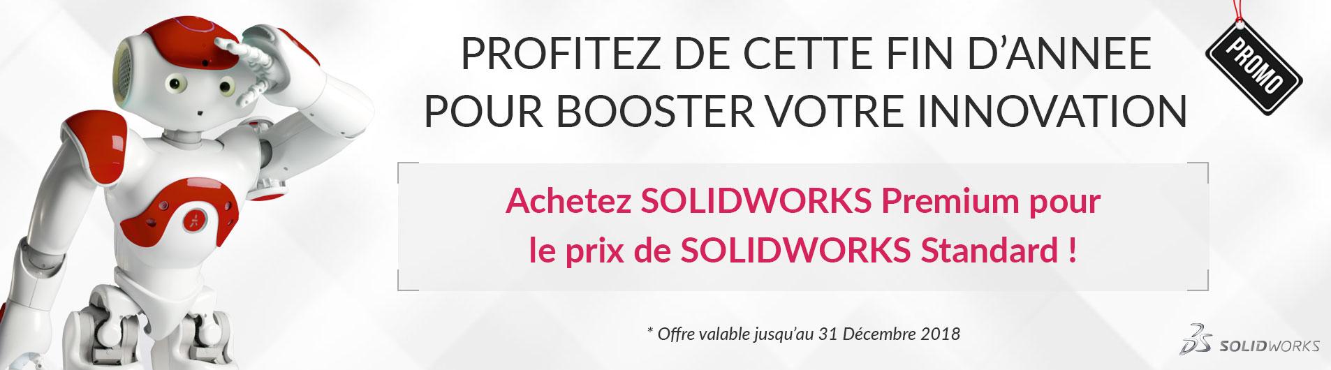 PROMOTION SOLIDWORKS DE FIN D'ANNÉE