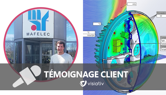 Témoignage SOLIDWORKS Flow Simulation Electronic Cooling