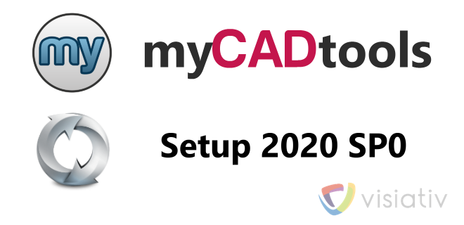 Setup myCADtools 2020 SP0