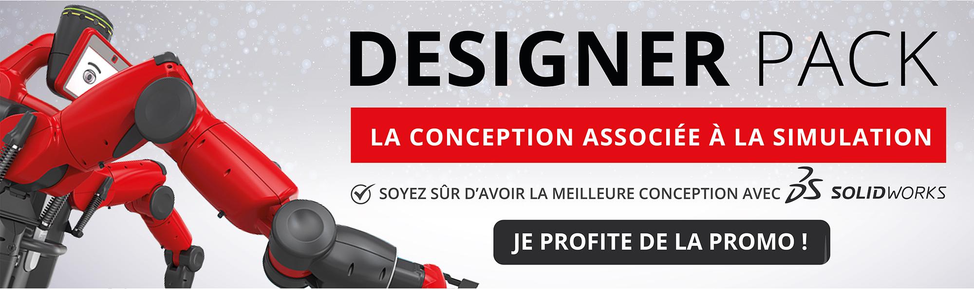 DESIGNER PACK ! Guidez votre conception par la simulation