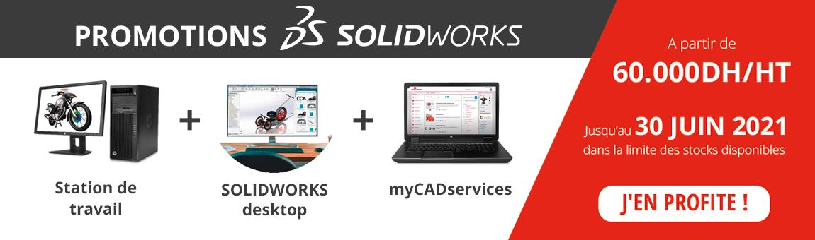 Promotions Solidworks JUIN 2021